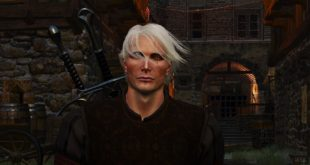 Get in the bin, Geralt, and play The Witcher 3 as Mads