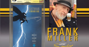 FRANK MILLER Teams Up With CGC for Private Signing