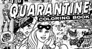 Gerard Way, Artists Promote 'The Quarantine Coloring Book'