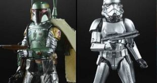 Hasbro Carbonizes Iconic Star Wars Black Figures
